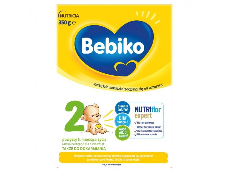 Bebiko 2 Mleko nastêpne dla niemowl±t powy¿ej 6 mc 350 g