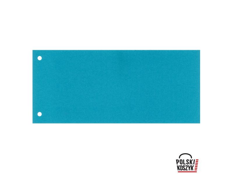 Esselte Przek³adki kartonowe 1/3 A4 100 sztuk niebieskie