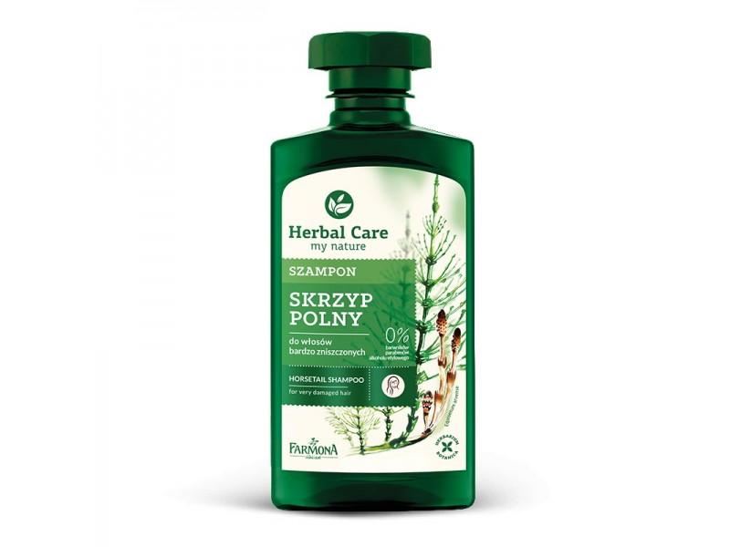 Herbal szampon do w³osów zniszczonych Skrzyp Polny 330 ml