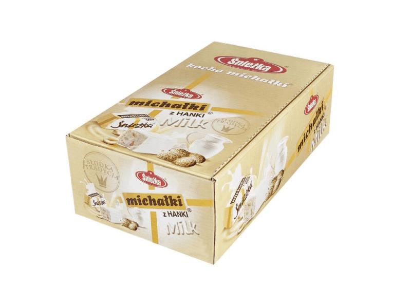 ¦nie¿ka Cukierki Micha³ki z Hanki milk 1,9 kg