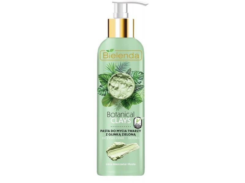 Bielenda Botanical Clays Zielona Glinka Pasta do mycia twarzy 190 g