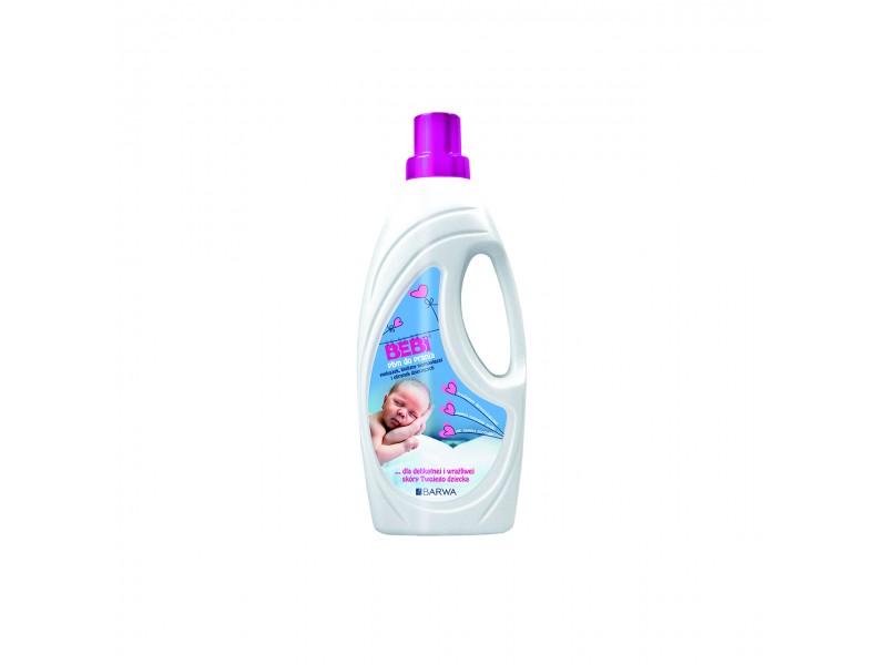 BARWA Bebi p³yn do prania pieluszek i bielizny niemowlêcej 1 l