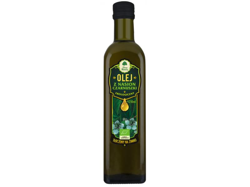 Dary Natury Olej Z Nasion Czarnuszki Virgin Bio 250 ml