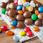 Orzechy i owoce w czekoladzie