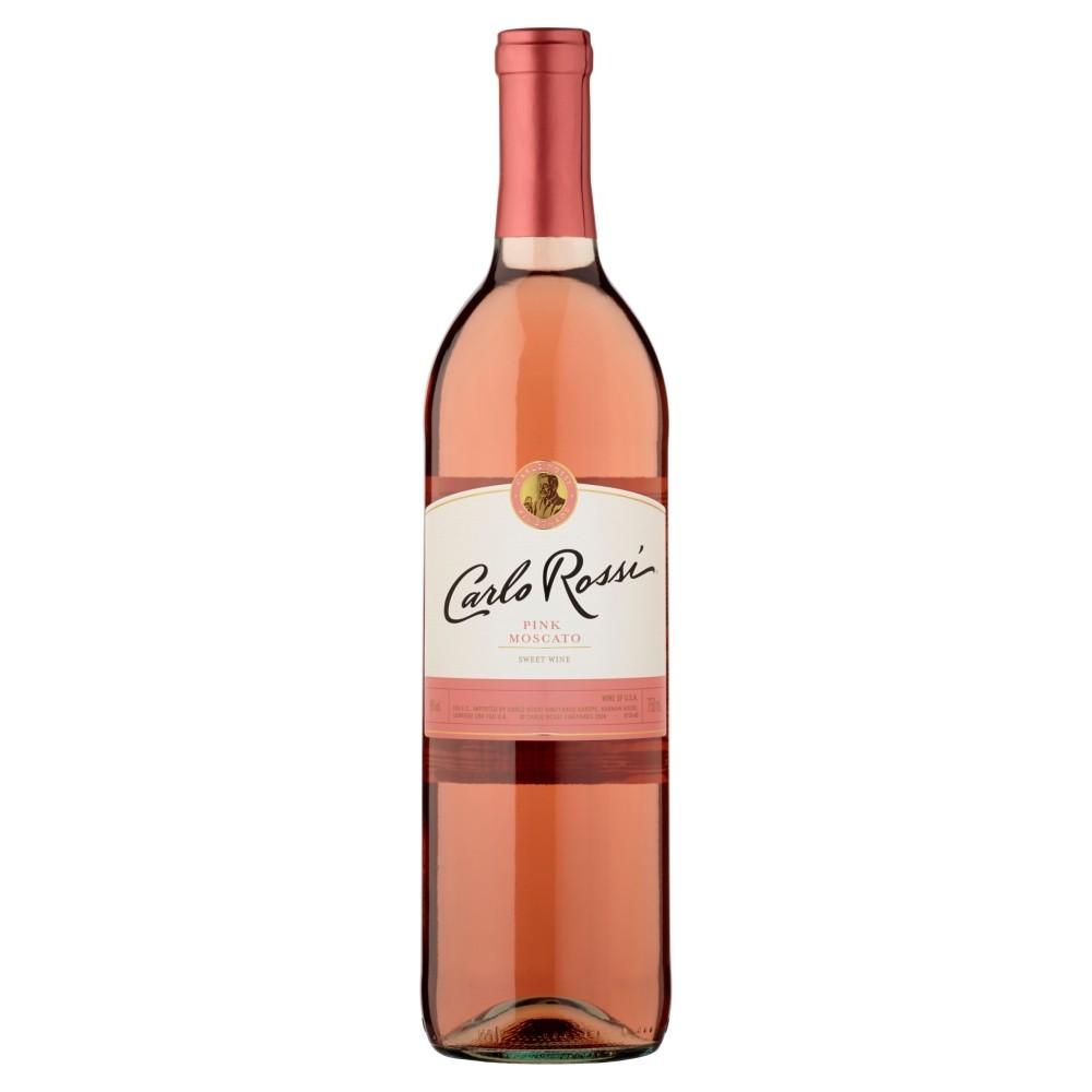 bdf45e7c84331 Carlo Rossi Pink Moscato Wino słodkie kalifornijskie 750 ml - Carlo Rossi -  Słodkie, Wino
