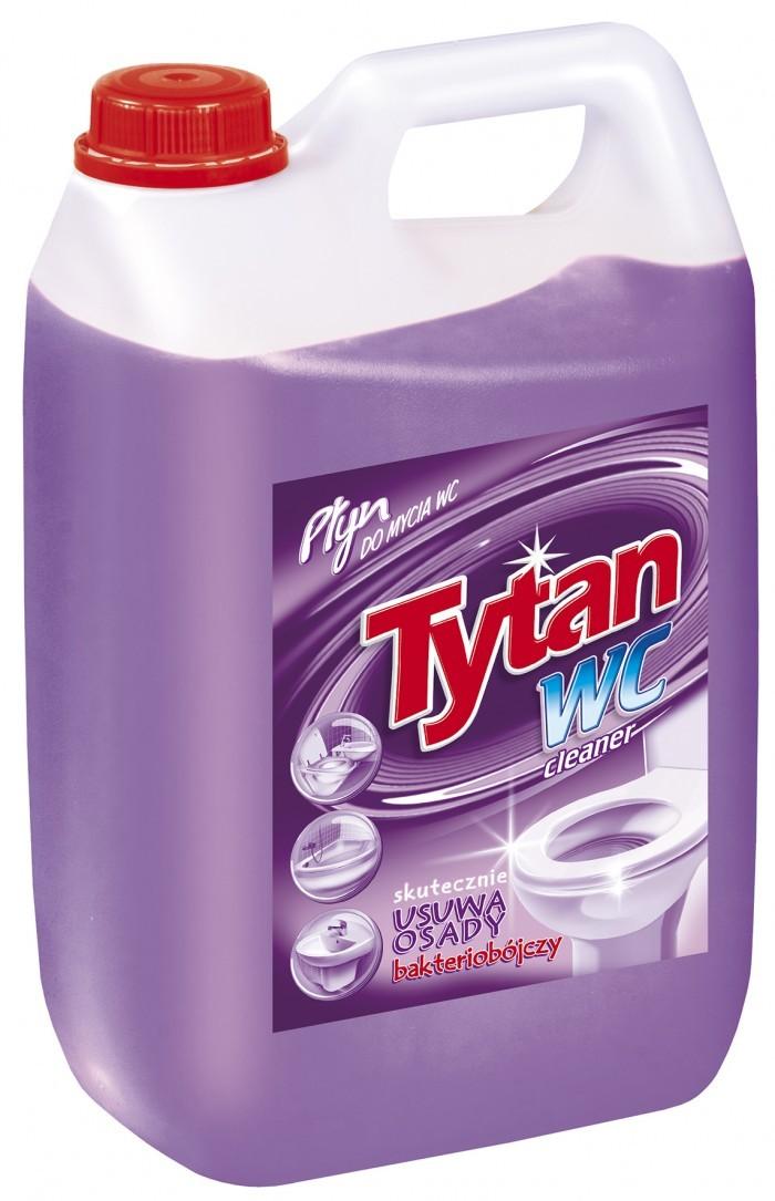 Tytan Płyn Do Mycia Wc Fioletowy 5 Kg