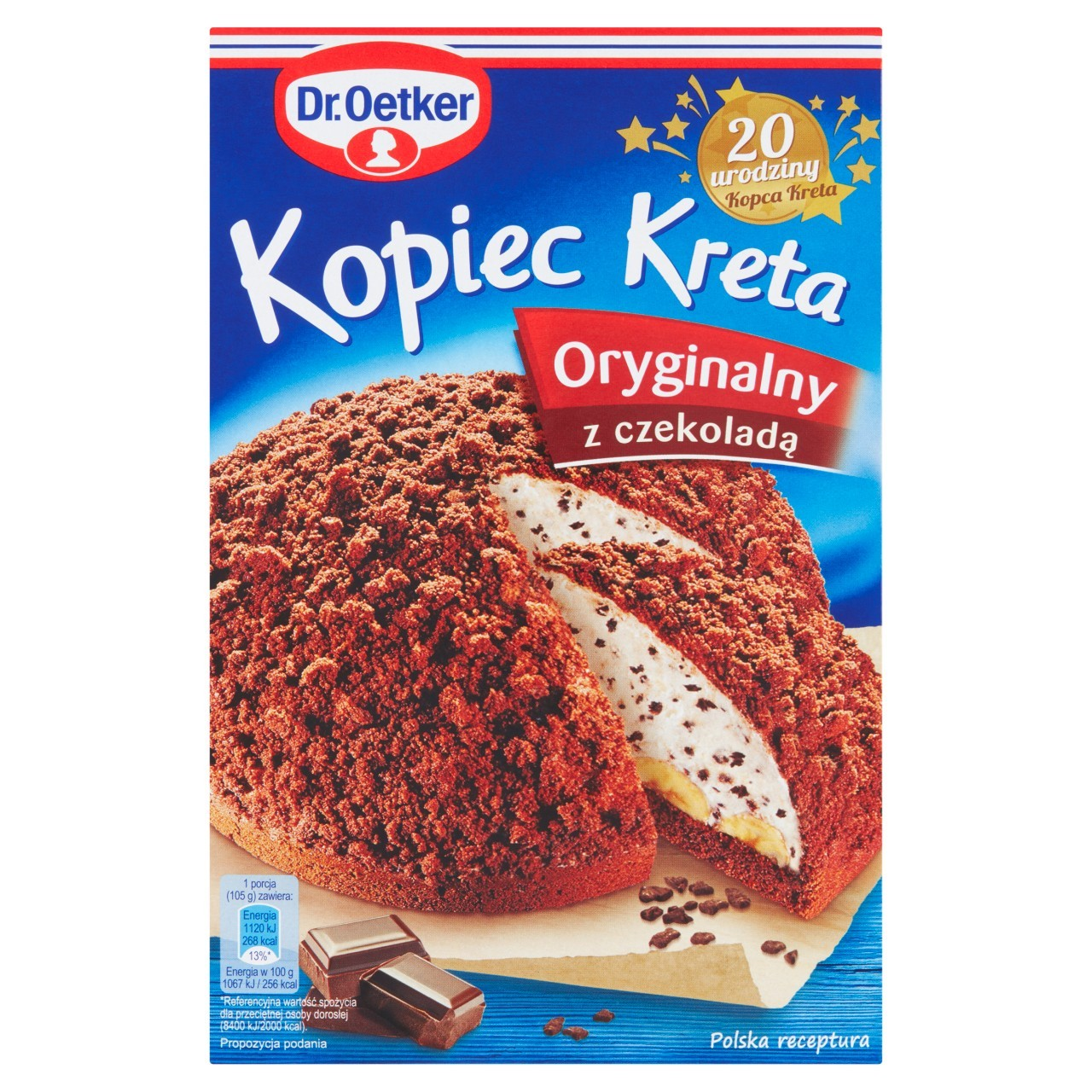 dr oetker kopiec kreta classic ciasto 410 g ciasta gotowe do wypiek w zakupy online. Black Bedroom Furniture Sets. Home Design Ideas
