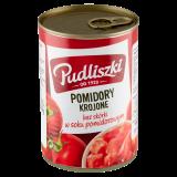 Pudliszki Pomidory krojone bez skórki w soku pomidorowym 400 g - Pudliszki - Pomidory całe i krojone, Przetwory z pomidorów - 1